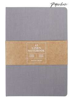 Paperchase Order And Purpose A5 Linen Notebook