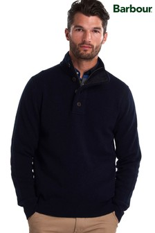 Barbour® Patch Half Zip Jumper