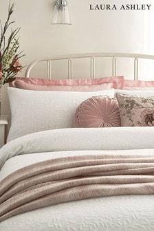 Set of 2 Laura Ashley White Ophelia Pillowcases