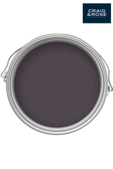 Chalky Emulsion Damson Paint by Craig & Rose