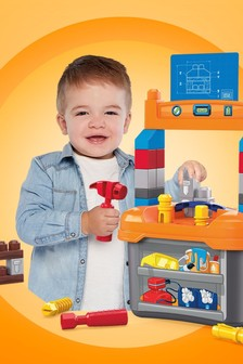 Mega Bloks Lil Building Workbench Building Bloks Set