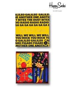 Happy Socks Queen Socks Four Pack Gift Box