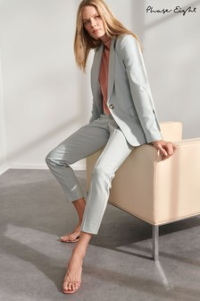 Phase Eight Blue Ulrica Seamed Suit Trousers