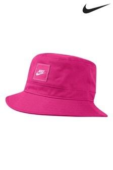 Nike Kids Pink Bucket Hat
