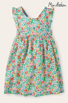 Boden Multi Bow Back Printed Dress