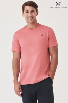 Crew Clothing Company Coral Crew Classic T-Shirt