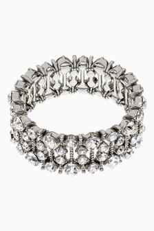 Crystal Effect Expander Bracelet