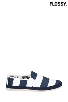 Flossy Blue Ninfa Slip-On Shoes
