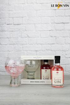 Sweet Potato Raspberry Gin Liqueur Gift Set by Le Bon Vin