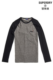 Superdry Organic Cotton Baseball Top