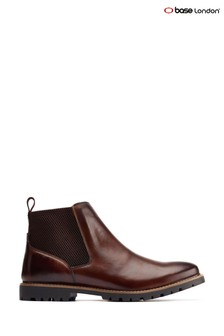 Base London Brown Anderson Chelsea Boots