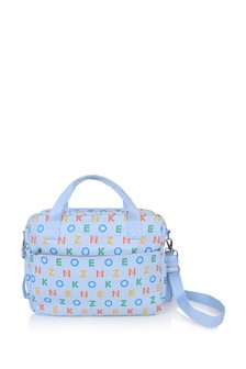 Baby Blue Logo Changing Bag
