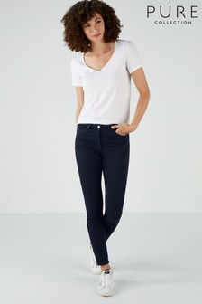 Pure Collection Blue Slingsby Skinny Jeans