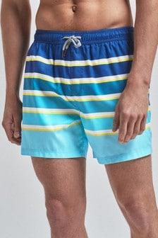 Ombre Stripe Swim Shorts