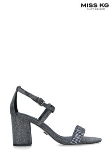Miss KG Pewter Polly Sandals