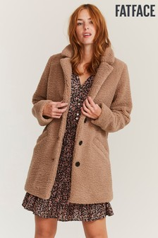 FatFace Natural Caroline Teddy Coat