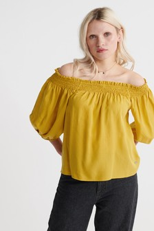 Superdry Desert Off Shoulder Top