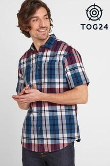 Tog 24 Multicoloured Wickley Mens Check Shirt