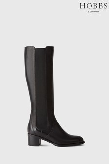Hobbs Black Emma Knee Boots