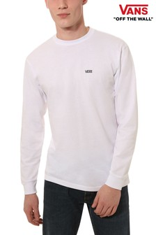 Vans Long Sleeve Logo T-Shirt