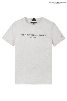 Tommy Hilfiger Grey Essential Logo T-Shirt