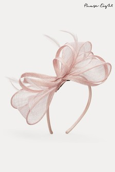 Phase Eight Pink Marcella Headband Fascinator