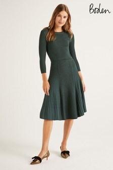 Boden Green Diona Dress