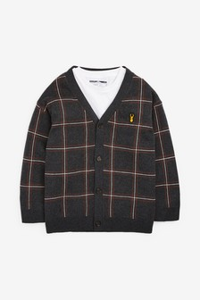 Oversized Cardigan And T-Shirt Set (3-16yrs)