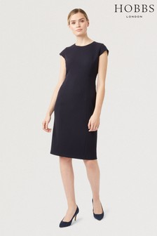 Hobbs Blue Leila Dress