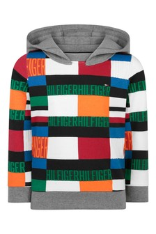 Boys Multicoloured Organic Cotton Hoody
