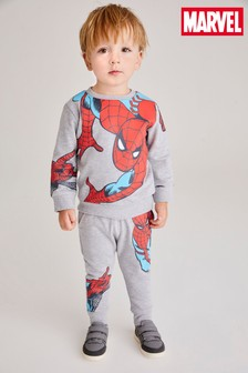 Spider-Man™ Jersey Crew Sweater And Jogger Set (3mths-8yrs)