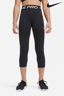 Nike Performance Black Pro Capri Leggings