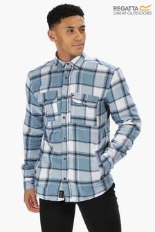 Regatta Blue Tygo Long Sleeve Shirt