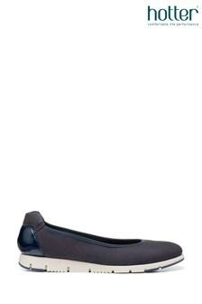 Hotter Natural Slip On Pump Shoes