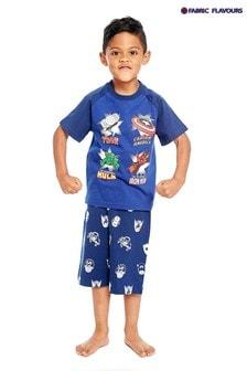 Fabric Flavours Blue Marvel® Heroes Pyjama Set