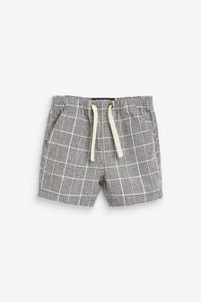 Linen Blend Pull-On Shorts (3mths-7yrs)