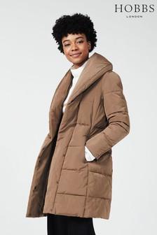 Hobbs Beige Winnie Puffer Jacket