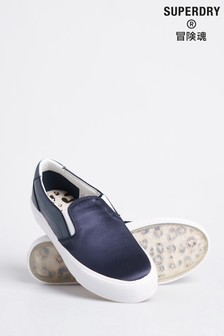 Superdry Classic Slip On Trainers
