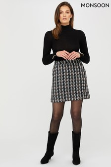 Monsoon Tabby Tweed Skirt