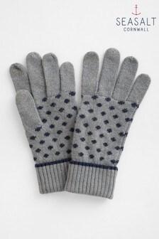 Seasalt Grey Very Clever Gloves