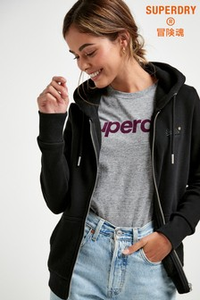 Superdry Core Zip Through Hoody