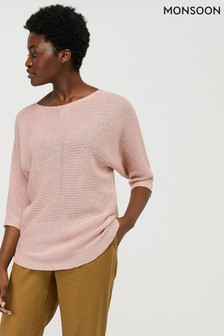 Monsoon Pink Verity Jumper