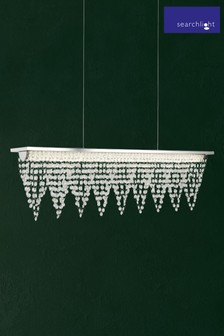 Icea LED Waterfall Dressing Ceiling Bar by Searchlight