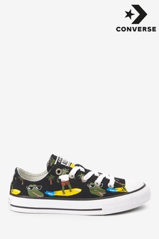 Converse Croc Surf Chuck Ox Youth Trainers
