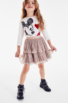 Sparkle Tiered Skirt (3-16yrs)