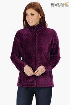 Regatta Purple Halona Full Zip Fleece Jacket