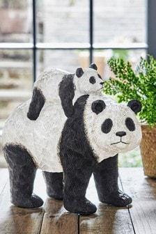 Panda Hugs Sculpture