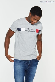 Tommy Hilfiger Stripe Branded T-Shirt