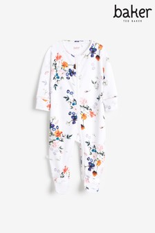 Baker by Ted Baker Zip Sleepsuit