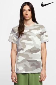 Nike White Camo T-Shirt